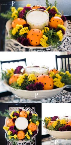 cloves + oranges + rosemary