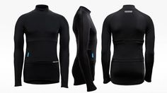 A new version of the smart fitness vest by Hexoskin has been announced. The solid fitness tracking specs remain unchanged in the arctic smart shirt, but a new design and