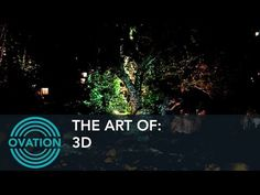 The Art Of: 3D - 3D Projection Mapping - Ovation - YouTube
