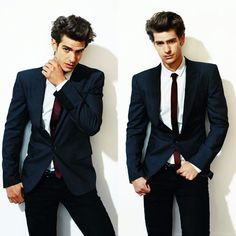 Andrew Garfield - he has that awkward and nerdy type qualities to him which makes him kind of hot