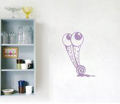 Housewares Wall Vinyl Decal Animals Cartoon Snail with Big Eyes Home Art Decor Kids Nursery Removable Stylish Sticker Mural Unique Design for Any Room Decal House http://www.amazon.com/dp/B00H8P3XZE/ref=cm_sw_r_pi_dp_QZXUtb0DA8MZ9EKC