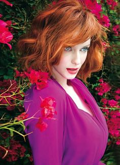 Christina Hendricks For Rhapsody Magazine, April 2014