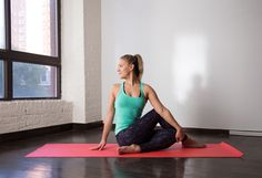 6. Seated Spinal Twist http://greatist.com/move/yoga-poses-digestion