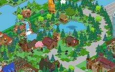 Post with 0 votes and 244 views. Simpsons Springfield, Springfield Tapped Out, The Simpsons Game, Hay Day, Design Inspiration, Design Ideas, Cozy Living Rooms, Galaxy Wallpaper, Castle