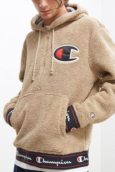 Champion Sherpa Hoodie Sweatshirt | Urban Outfitters