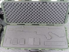 Pelican Storm Case iM3100 with Cutouts for AR and Accesories