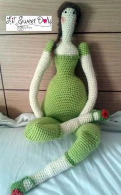 tilda crochet ganchillo doll amigurumi najma07 ♡
