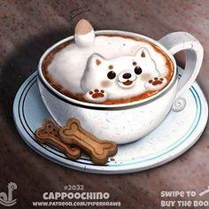 Oooooooooooowwn Kawaii -w- Cute Food Drawings, Cute Animal Drawings Kawaii, Cute Food Art, Cute Art, Cute Little Animals, Cute Funny Animals, Fruit Animals, Animal Puns, Animal Food