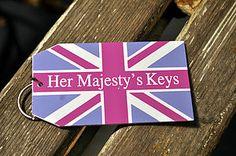 'Her Majesty's Keys' Key Ring