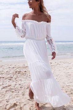 693383e76d44 14 Best Flowy Beach Dress images | Long gowns, Maxi dresses, Summer ...