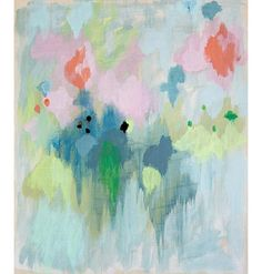 Blush Print by Belinda Marshall