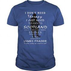 I Love Outlander  James Fraser Shirts & Tees