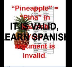 spanish pineapple