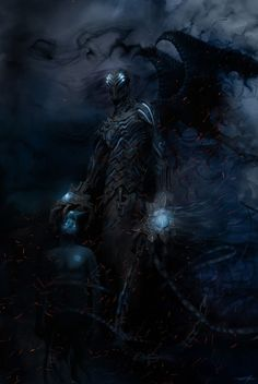 Dark Fantasy Art, Fantasy Artwork, Dark Art, Monster Art, Fantasy Monster, Dark Creatures, Fantasy Creatures, Mythical Creatures, Demon Art