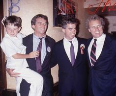 Bobby III, Bobby Jr., Max and Joe II Kennedy
