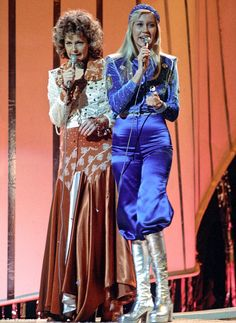 Andrew Pierce thanks heavens for 1974, the year Abba (pictured) mesmerised the world in th...