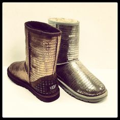 Metallic Uggs