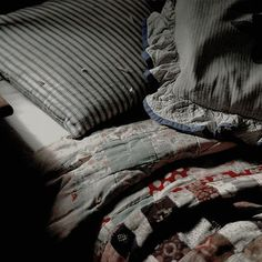 I can almost smell those blankets, feel the coolness and softness of those old pillows.