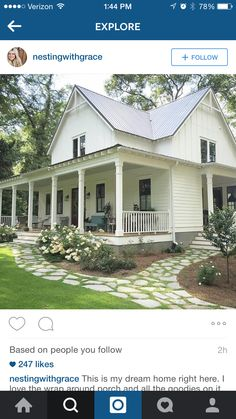 Ummm, I like the porches a lot. And the house. Super cute!
