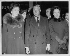 The Windsors with the Princess Royal, Mary.