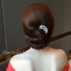 เกล้าผมเจ้าสาว hairupdo ทรงผมเจ้าสาว แบบทรงผมเจ้าสาว  IG : mud_hairstylist Saree Hairstyles, Mom Hairstyles, Indian Wedding Hairstyles, Casual Hairstyles, Summer Hairstyles, Hair Designs, Hair Inspiration, Curly Hair Styles, Hair Beauty