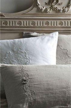 * antique linen