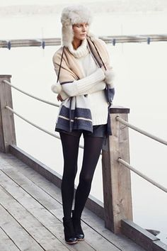 Stylish winter outfit ideas you won't freeze in