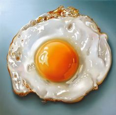 Fried Egg by Dutch painter Tjalf Sparnay