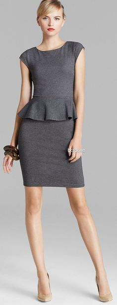 Alice + Olivia Dress - Victoria Peplum, skirt's a little short and there lacks a little pop but I'd love to try a peplum dress.