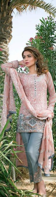 Stylish Zainab Chottani Latest Eid Collection 2016 #EidDresses #DesignerDresses