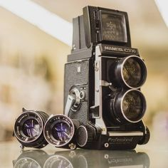 """""""A Mamiya C330 with an 80mm f/2.8 AND a 65mm f/3.5 with the latest waist level finder for only $299.99! How can you go wrong?! #Mamiya #MamiyaC330…"""""""
