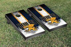 Canisius College Golden Griffins Vintage Stripe Cornhole Tailgating Game