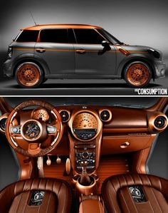 Steam punk Mini Cooper (but I don't even like mini coopers!)