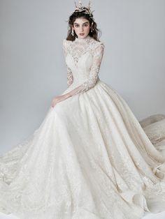 Wedding Dress Styles, Dream Wedding Dresses, Wedding Gowns, Elegant Dresses For Women, Fairytale Dress, Royal Dresses, Fantasy Dress, Flower Dresses, Beautiful Gowns