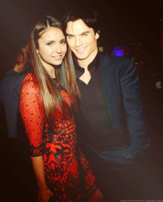 There are rumors that Nina & Ian are back on! So hope it is true! Perfect couple <3