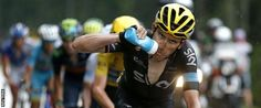 Team Sky rider Geraint Thomas