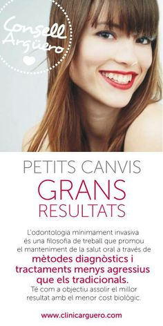 CONSELL ARGÜERO  Petits canvis...GRANS RESULTATS!    #Argüero #CA #ClinicaDental #Odontologia #Dentista
