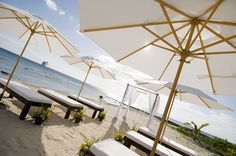 Beach Wedding Ceremony Setting - Images from Parfait Weddings & Events | Grand Cayman | Cayman Islands