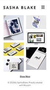 Design website templates – Graphic Design Portfolio