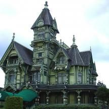 California Victorian, one day I'll have a house like this in the middle of a forest :-)