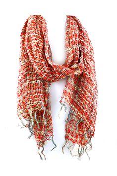Light Summer Knit Scarf