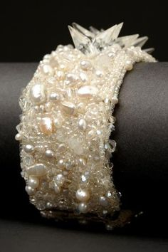 Andrea Gutierrez hand beaded from vintage reclaimed beads