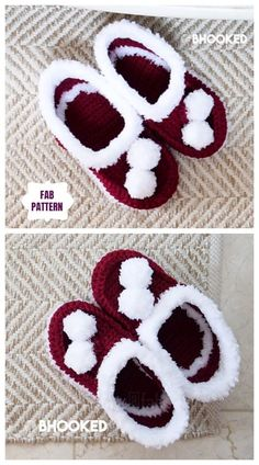 Crochet Christmas Adult Slippers Free Patterns tutorials Crochet Christmas Adult Santa Slippers Free Crochet Pattern Related Mistakes You Keep Making When You Shave Your Legs Surprising Uses for Olive Oil (Not Just for Cooking) Bag Pattern - Crochet Santa, Holiday Crochet, Crochet Bebe, Crochet Slippers, Crochet Gifts, Cute Crochet, Crochet Ideas, Beginner Crochet Projects, Crochet For Beginners