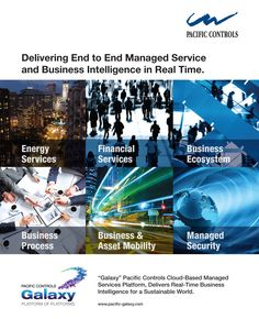 Delivering End to End Managed Service and Business Intelligence in Real Time.  Galaxy Pacific Controls Cloud-Based Managed Services Platform, Delivers Real-Time Business Intelligence for a Sustainable World.