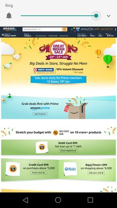 4fb0f0c51110 Great Indian Sale From 20th to 23 jan. For prime customer sale starts from  12