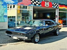 "musclecarpower: ""'68 Dodge Charger R/T """