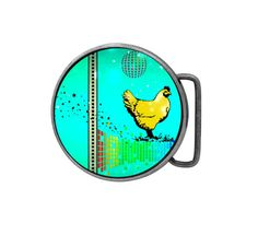 Belt buckle Disco Chicken Antiqued Silver Gifts for him Gifts for her by UniqueArtPendants on Etsy https://www.etsy.com/listing/229169780/belt-buckle-disco-chicken-antiqued