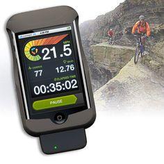 LiveRider - Compteur Vélo sans Fil  - marque : Potato Head Un gadget Iphone qui vous aidera à faire un point santé. Ce compteur à adapter à votre vélo vous aidera à calculer vos itinéraires, le nombre de km parcourus ou encore de ca... prix : 79.95 €  chez Megagadgets #PotatoHead #Megagadgets