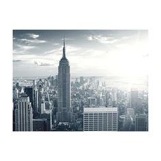 Fototapet Arkiio Fantastisk Vy Till New York Manhattan Vid Soluppgången Storlek: 250x193 cm