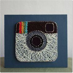 Instagram String Art by mintiwall